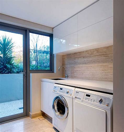 Decorating Ideas For Small Laundry Rooms Small Laundry Room Ideas With Contemporary Cabinet Design Decolover Net