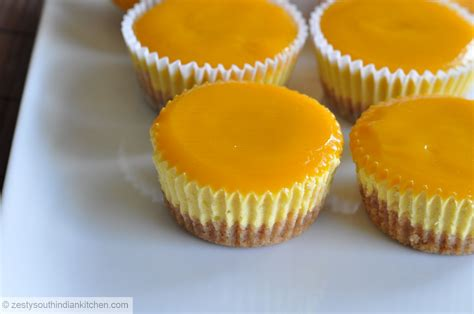 Mango Cheesecake mango cheesecake with mango glee zesty south indian kitchen