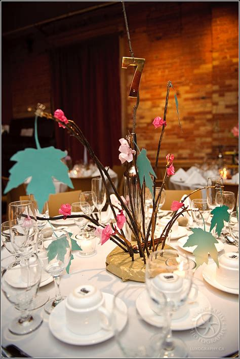 alternative wedding centerpieces wedding wednesday alternative centerpieces to flowers