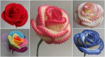 Learn how to crochet roses page 2 craft addicts