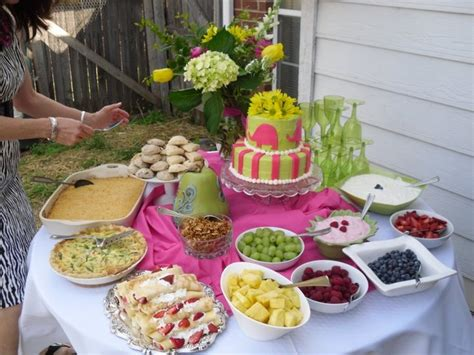 brunch food partyideas pinterest