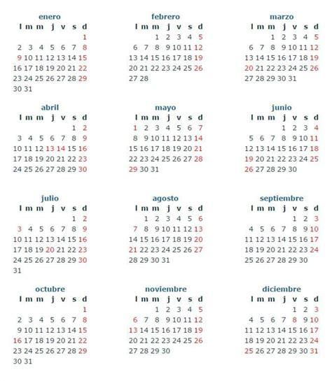 calendario festivos colombia 2017 vertola