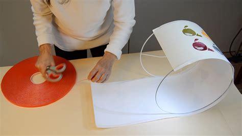 como hacer pantallas para laras pantalla para l 225 mpara como montarla