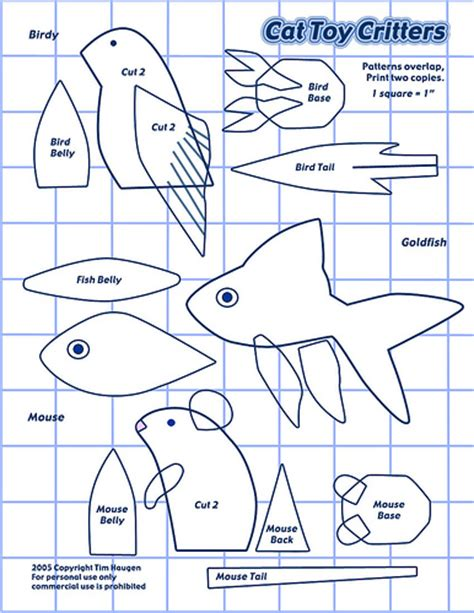z pattern in c cat toy pattern this is a great free pattern sheet if