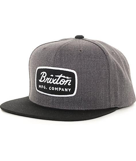 Snapback Brixton Supply 2 brixton jolt charcoal black snapback hat