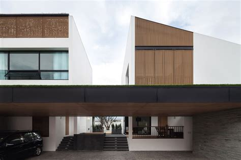 twin house twin house poetic space studio archdaily