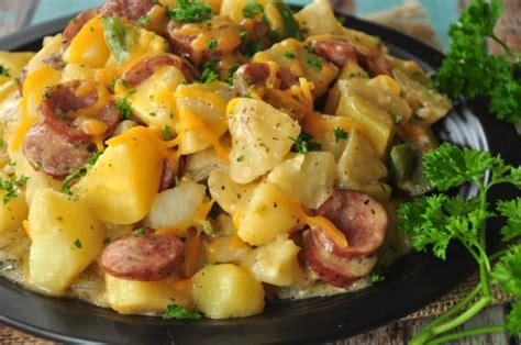 potato kielbasa skillet recipe food com