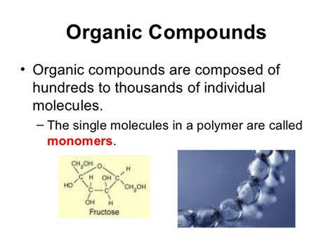 exle of organic compound structure of organic compounds