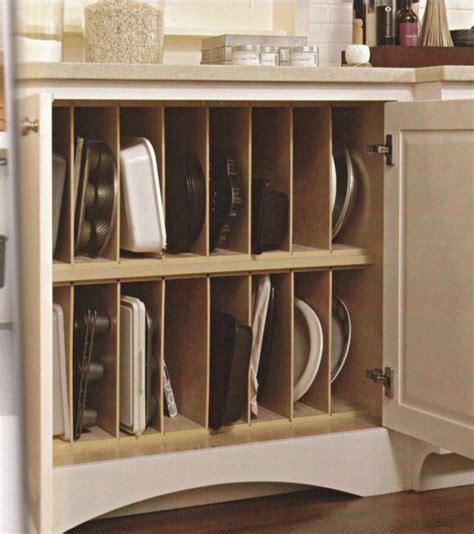 Kitchen Pan Storage Ideas best 25 pan organization ideas on pinterest kitchen