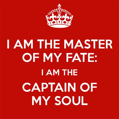 master of my fate captain of my soul tattoo i am the master of my fate i am the captain of my soul
