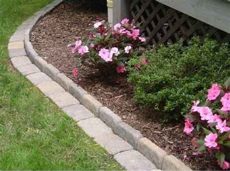 landscape bed edger 18 gardening bed edging ideas that are easy to do