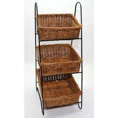 Bench With Wicker Baskets 1000 Images About Home Vegetable Rack On Pinterest