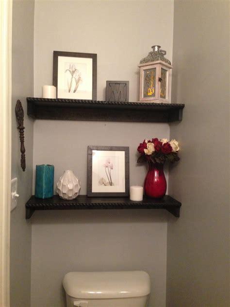 powder room shelves home