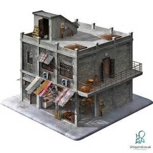 3d House Building Games A 3d Model Of A Building Designed Inside And Out In The