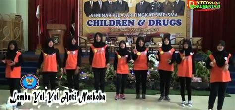membuat yel yel anti narkoba lomba yel yel anti narkoba antar pelajar ditaja bnk dumai