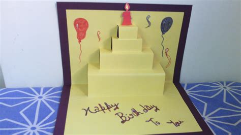 How To Make A Birthday Card Out Of Construction Paper - birthday cards for friends