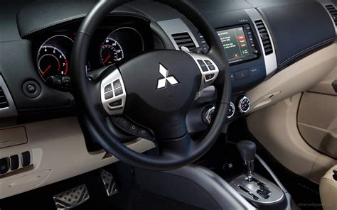 nissan outlander interior 2010 mitsubishi outlander gt interior wallpaper hd car