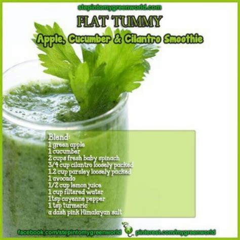 Detox For Flat Stomach by