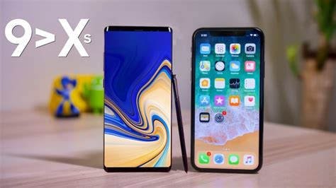 top  reasons  galaxy note      iphone xs max youtube