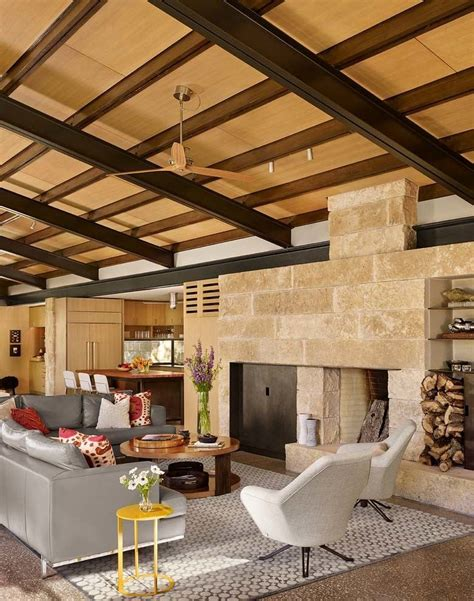 ranch home interiors texas hill country ranch home offers a water s edge