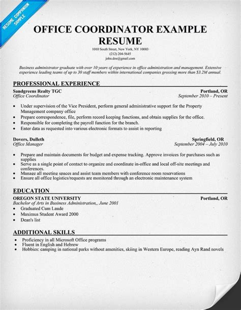 Front Desk Coordinator Resume Exles by Us Senate Children S Books And Wesbites About The Us
