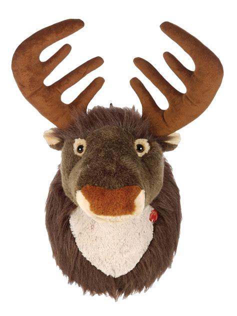 fibreglass christmas reindeer head singing reindeer soft plush wall hanging decorations ebay