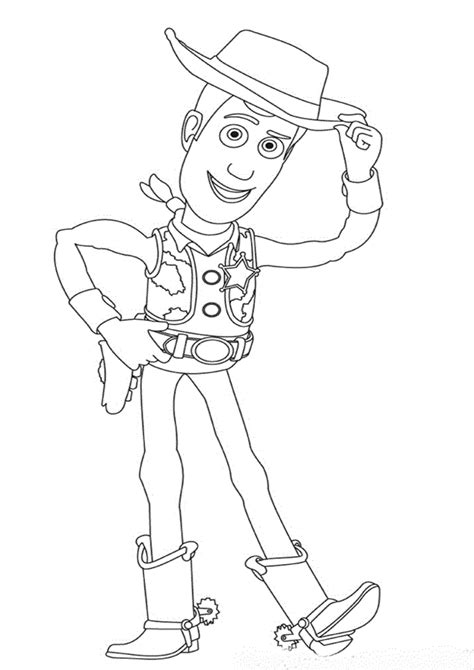 cartoon design woody and friends coloring pages quot toy story quot