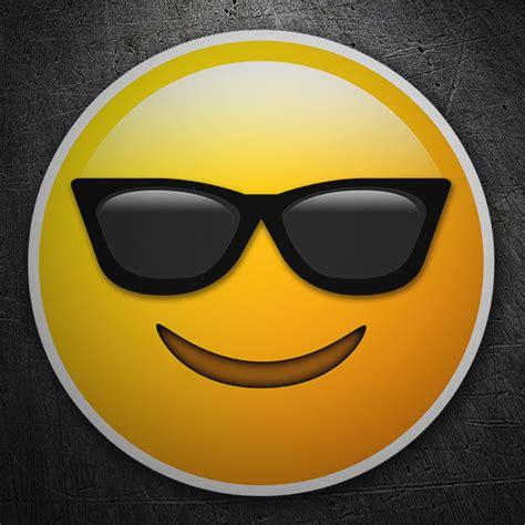 Smiley Mit Sonnenbrille Aufkleber by Aufkleber Smiley Mit Sonnenbrille