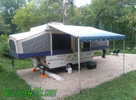 pop up trailer awning 8ft supreme bag awning for pop up cer trailer