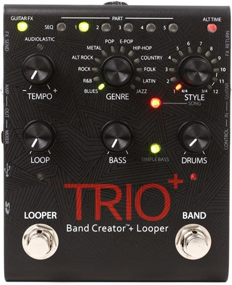 Digitech Bp355 Promo Special digitech trio band creator and looper pedal sweetwater