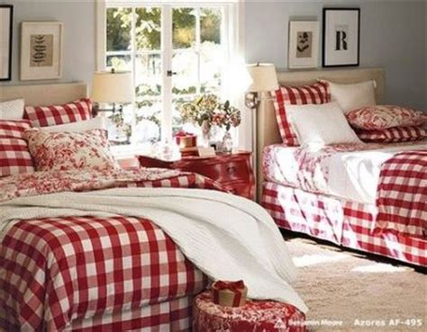 red toile bedroom red buffalo check toile for the bedroom juxtapost
