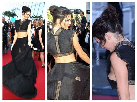 cannes 2015 kendall jenner exposed on the carpet
