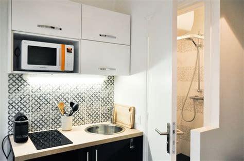 cuisine equip馥 studio studio 233 tudiant 18 un duplex de 19m2 fonctionnel