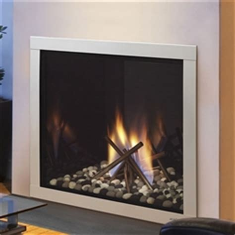 heat glo lux36 36 quot gas fireplace direct