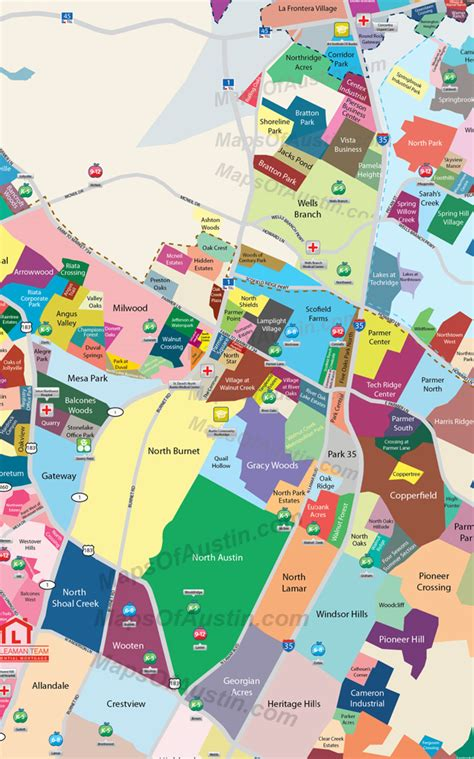 map of texas neighborhoods maps of neighborhood maps of texas