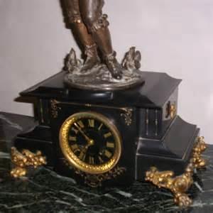 ancienne pendule napol 233 on iii marbre noir d 233 ssinateur i