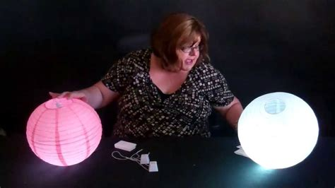 Paper Lanterns Lighting Led Lights For Round Chinese How To Use Led Lights