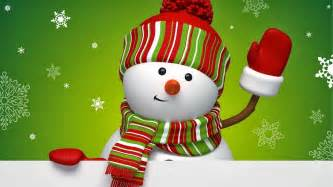 Snowman greetings and widescreen backgrounds download