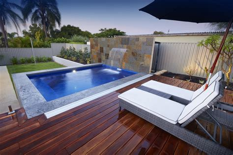 backyard plunge pool make your home resort like ambience with plunge pool