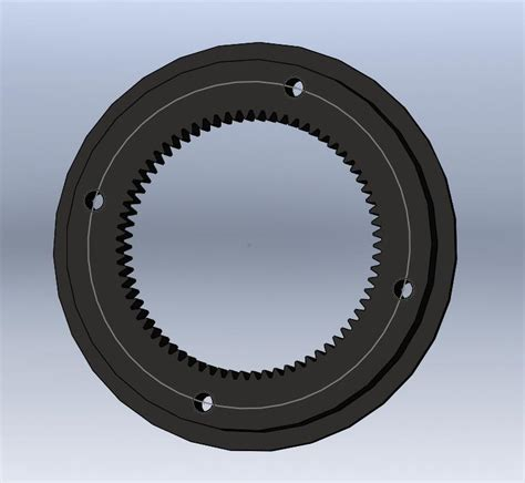 Handmade Cing Gear - 0 5m 70t custom gear ring in ring gears from home