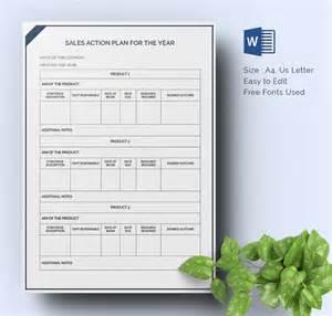 Free Sales Plan Template Word by Sales Plan Template 22 Free Word Excel Pdf