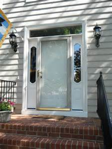 therma tru smoothstar fiberglass front entry door in