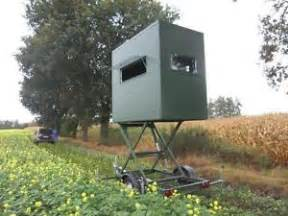 blind lift new mobile tower blind hydraulic lift deer stand