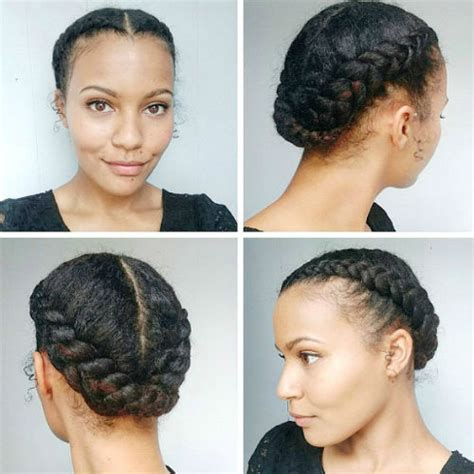 Relaxed Hair Protective Styles For Hair by 21 Easy Protective Hairstyles For Hair With