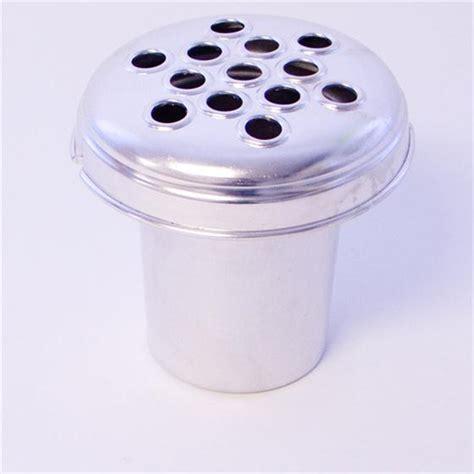 Grave Vase Insert by Silver Aluminium Grave Vase Insert 12cm Oasis Item Code