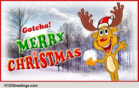 gotcha merry christmas  merry christmas wishes ecards