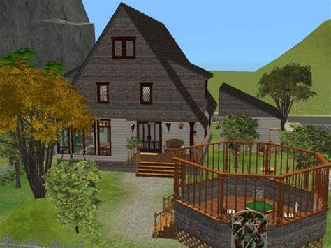 dutch house mod the sims suburban dutch house