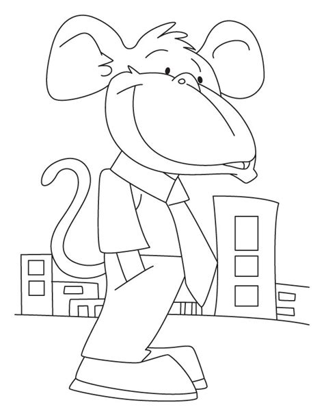 capuchin monkey coloring pages capuchin monkey coloring pages download free capuchin
