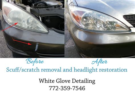 Car Detailing Port St Fl by Scuff Removal White Glove Mobile Auto Detailing Port