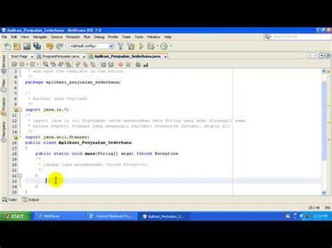 tutorial netbeans ide 8 0 pdf tutorial membuat aplikasi penjualan dengan netbeans ide 7